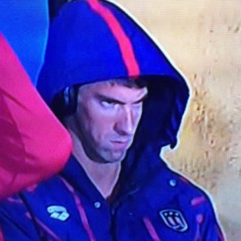 Michael Phelps explains his epic glare at the 2016 Olympics