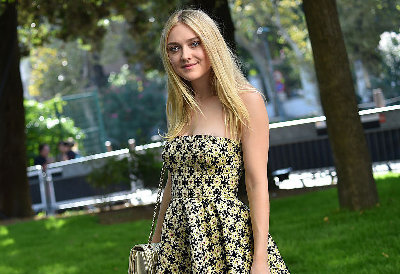 Everyone's admiring Dakota Fanning's dress, but her SHOES are where it's at