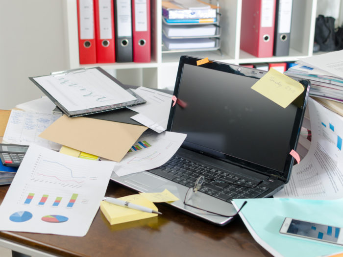 Is Your Desk Always A Mess Science Says There 39 S A