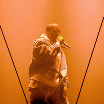 Kanye West has sold more tour merch than the Pope, because he's Kanye so of course he did