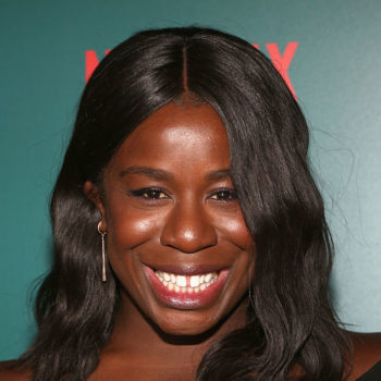 """Uzo Aduba from """"Orange is the New Black"""" got such fabulous bangs, we want to cut our hair"""