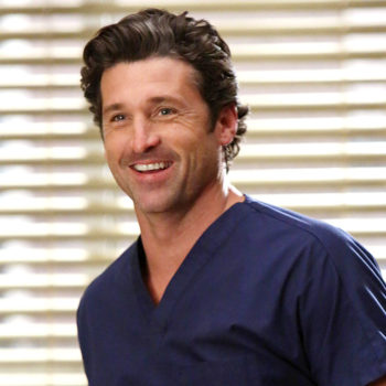 Our McDreamy has scrubbed up again…well, sort of