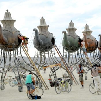 Here are the most amazing and wildest pics from this year's Burning Man Festival