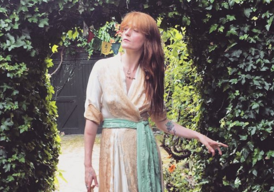 YES: Florence Welch is featured on Lady Gaga's upcoming album