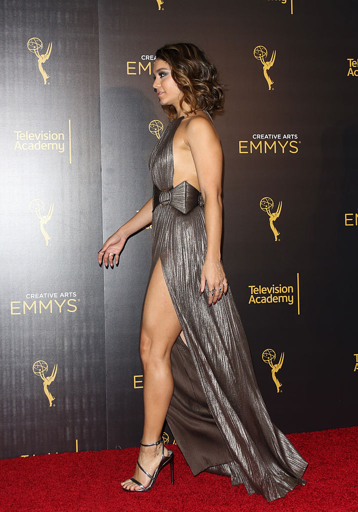 Vanessa Hudgens Looked Like A Total Space Goddess On The