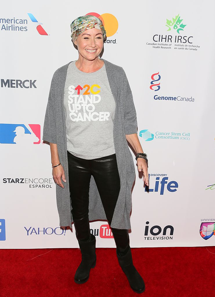 Shannen Doherty Walked The Red Carpet Days After Chemo