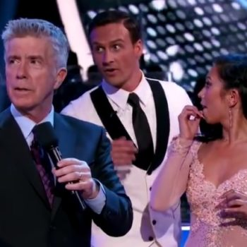 "So, what actually happened to Ryan Lochte on ""Dancing With The Stars"" last night?"