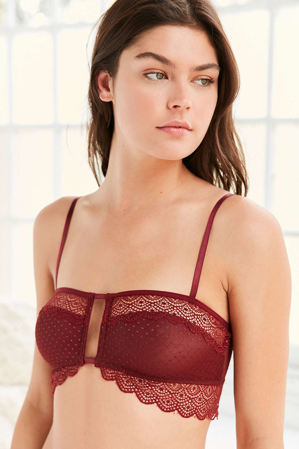 8efd150b3b5 Madalynne For Out From Under Suzie Lace Cutout Bra from Urban Outfitters,  $34