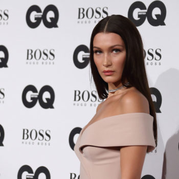 You have to read Bella Hadid's hilarious response to falling on the runway during NYFW