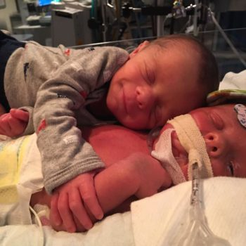 Our hearts have broken over this news about the premature twins who went viral for hugging