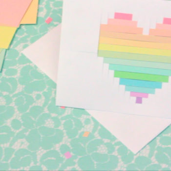 These pixilated cards will level up your DIY game