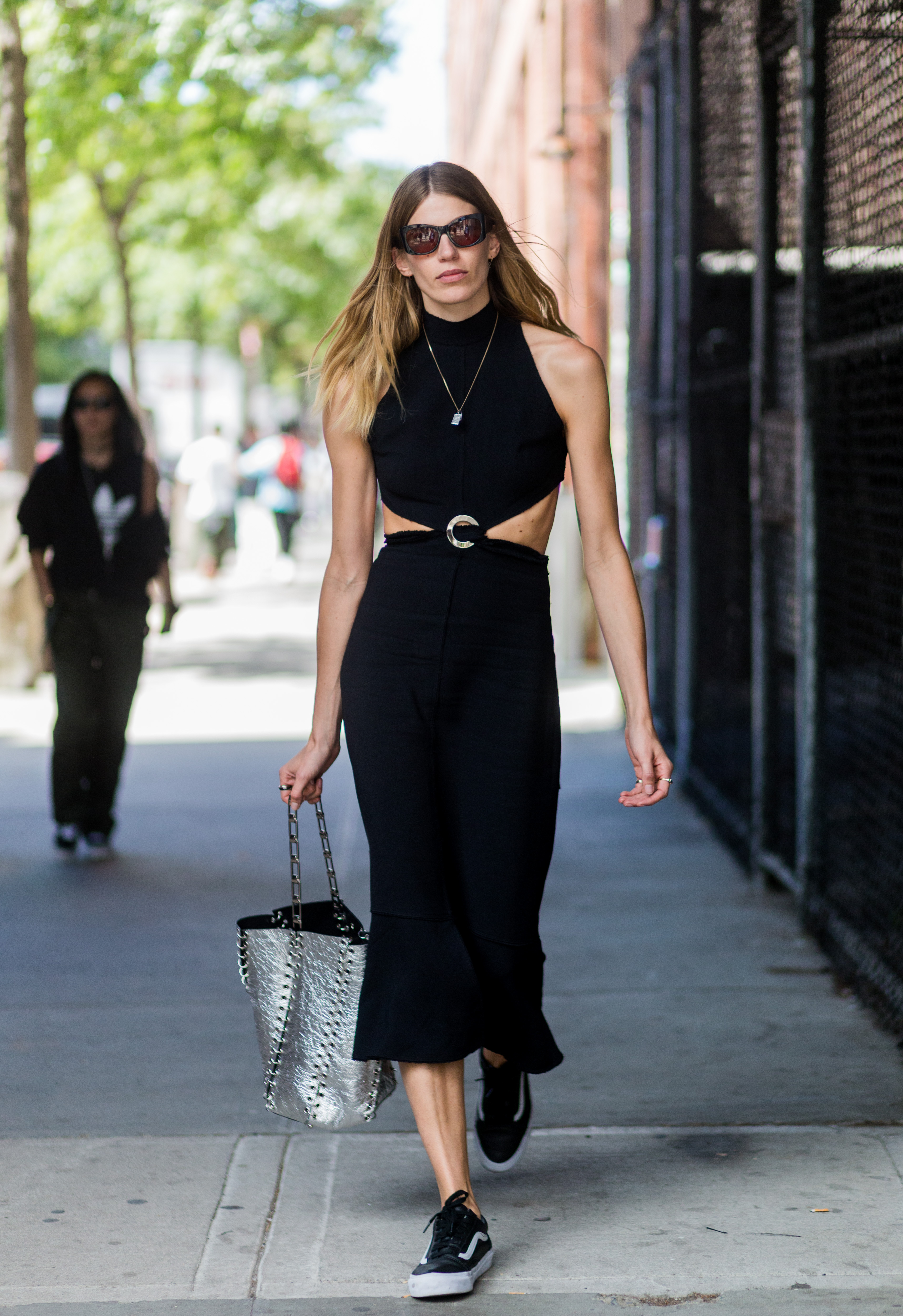 20 Images From Nyfw That Prove Wearing All Black Is Just
