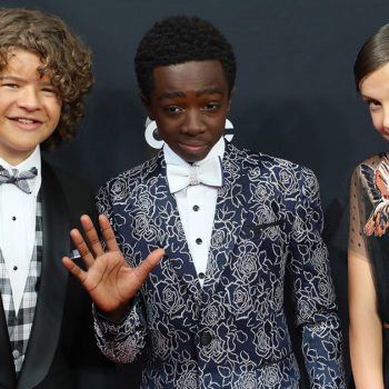 """The kids from """"Stranger Things"""" performed """"Uptown Funk"""" at the Emmys and it's adorable"""