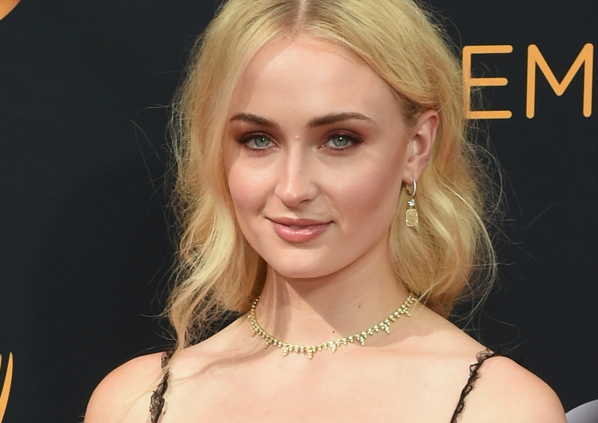 Sophie Turner's Emmys dress turned her into a gothic goddess