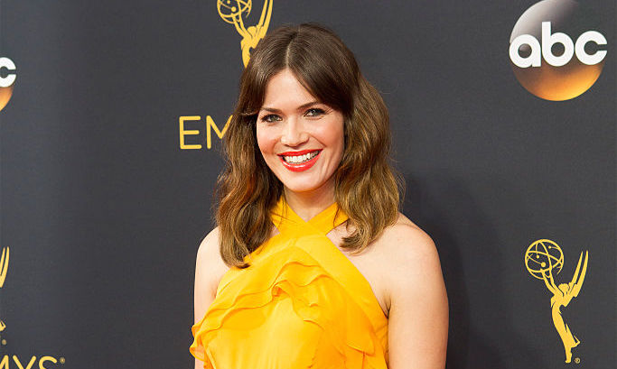 It looks like Mandy Moore rocked a modern version of Princess Belle's dress on the red carpet