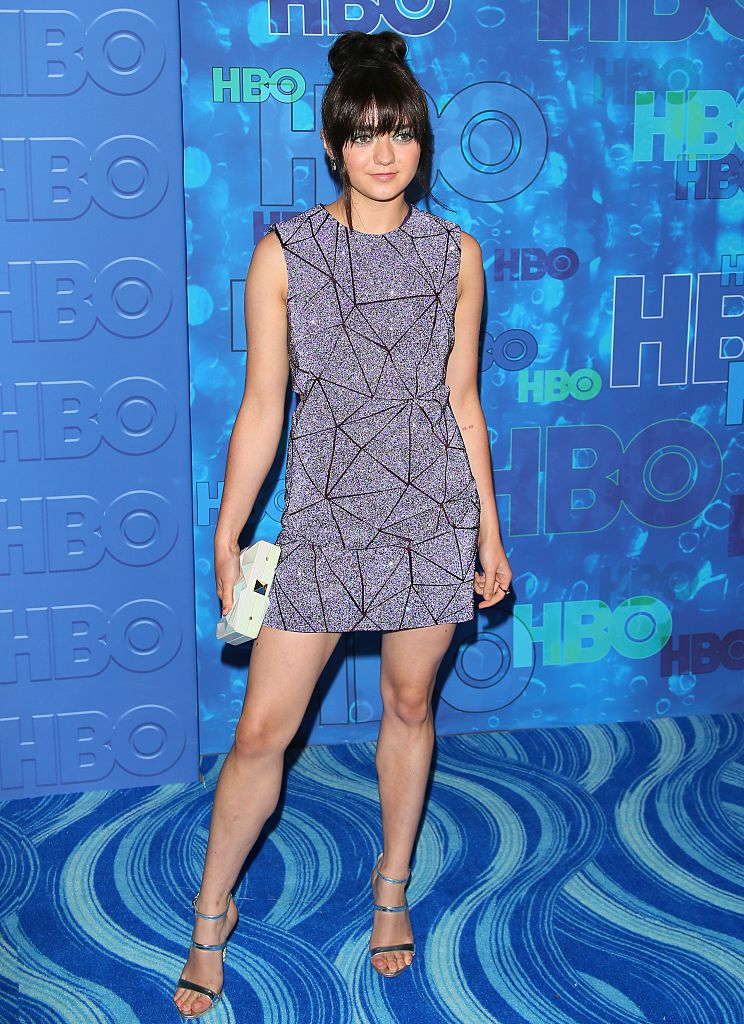 Maisie Williams Emmy After Party Look Was So Beautifully
