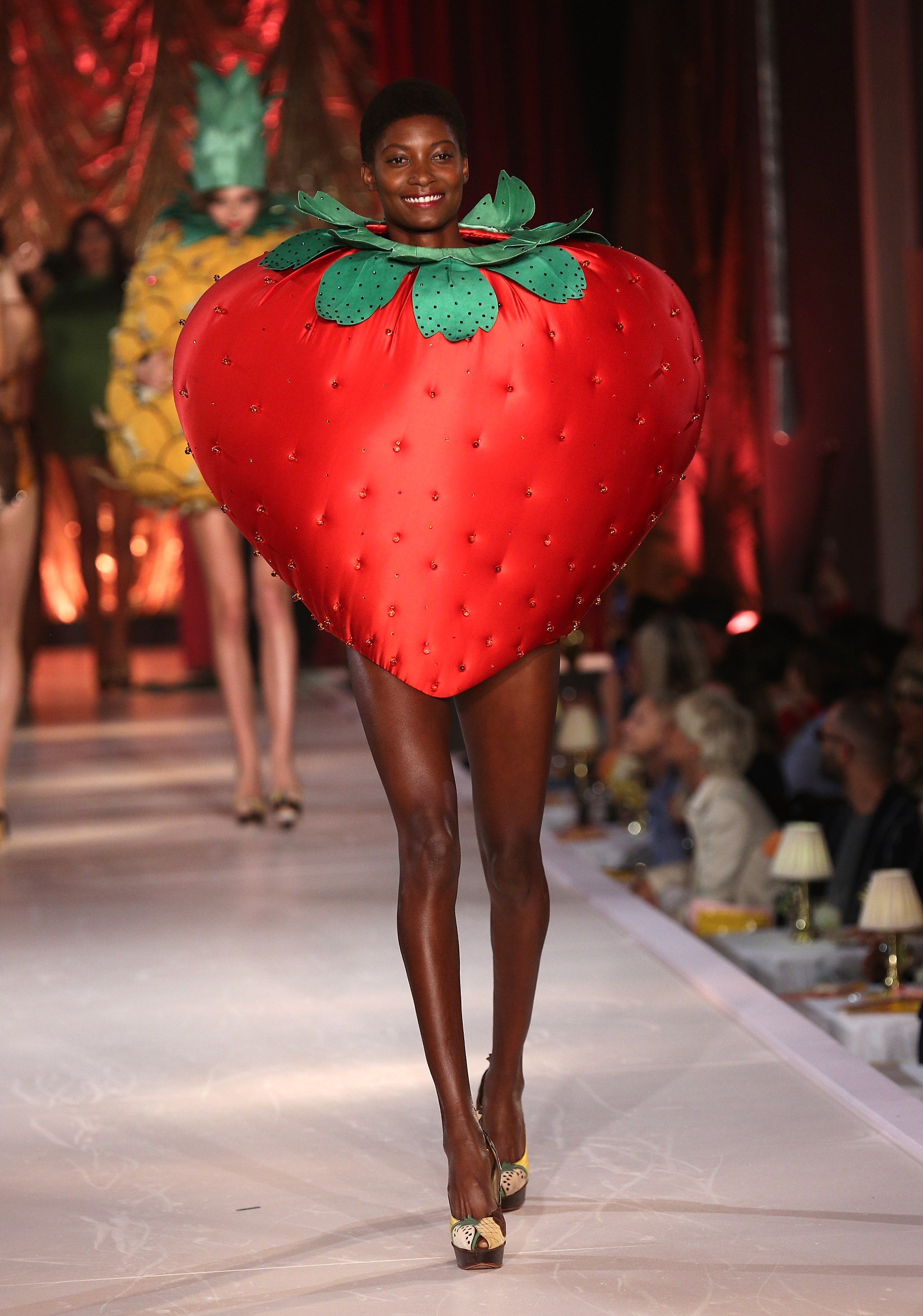 These Models Walked The Runway In Sexy Fruit Costumes, And -8938