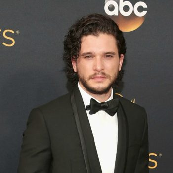 We didn't know Kit Harington wears Harry Potter glasses until now