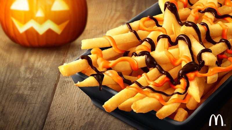 McDonald's is now selling pumpkin chocolate fries because FALL