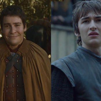 "This pic of Podrick kissing Bran will make your ""Game of Thrones"" heart oh so happy"