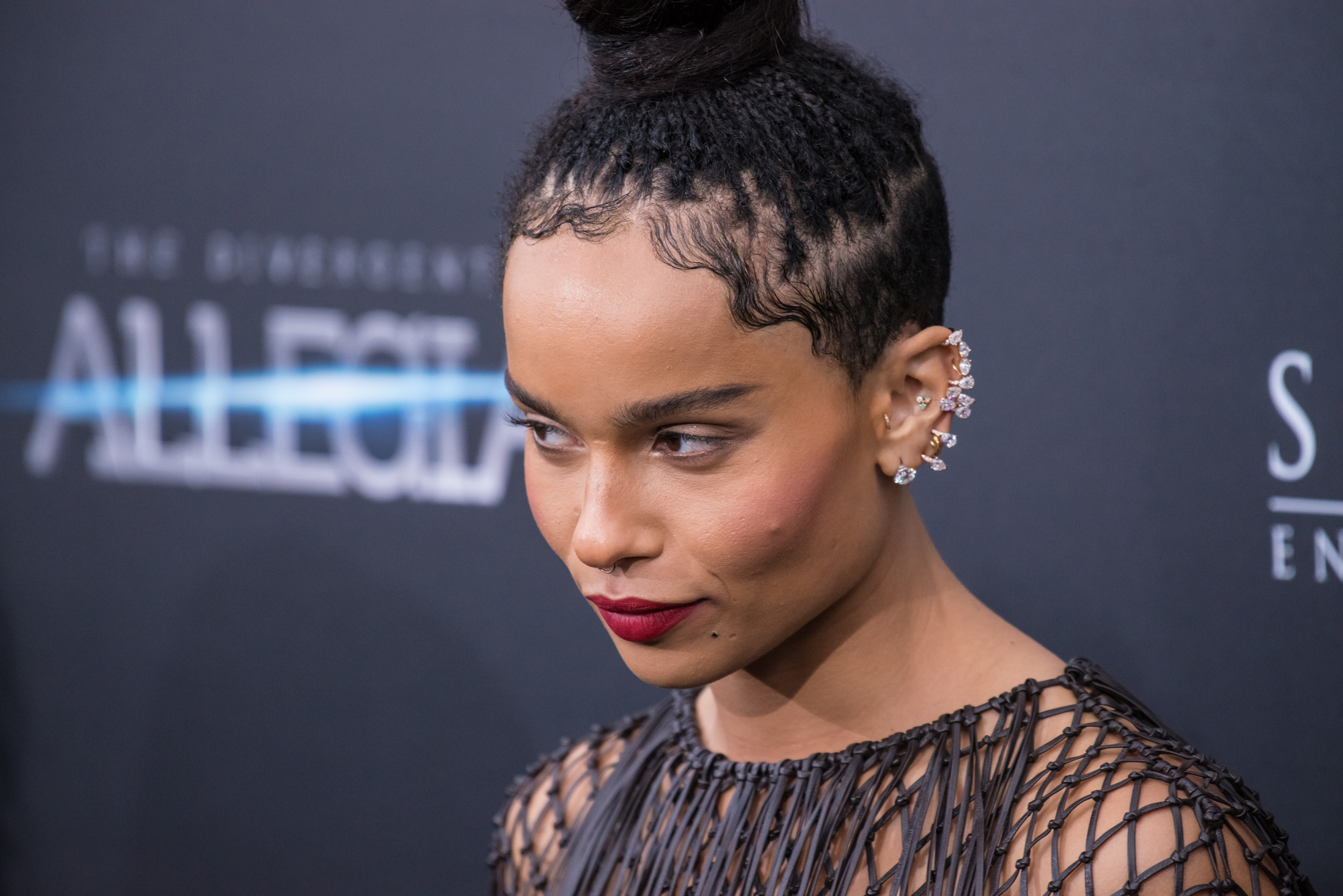 Baby Hair Styles Braids: Zoë Kravitz Is Launching A New Collab With YSL, And You