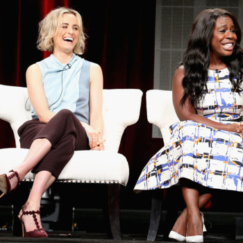 """This """"Orange is the New Black"""" debate watch party looked like so much fun"""
