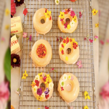 Here's How To Make Fancy AF Floral Donuts!