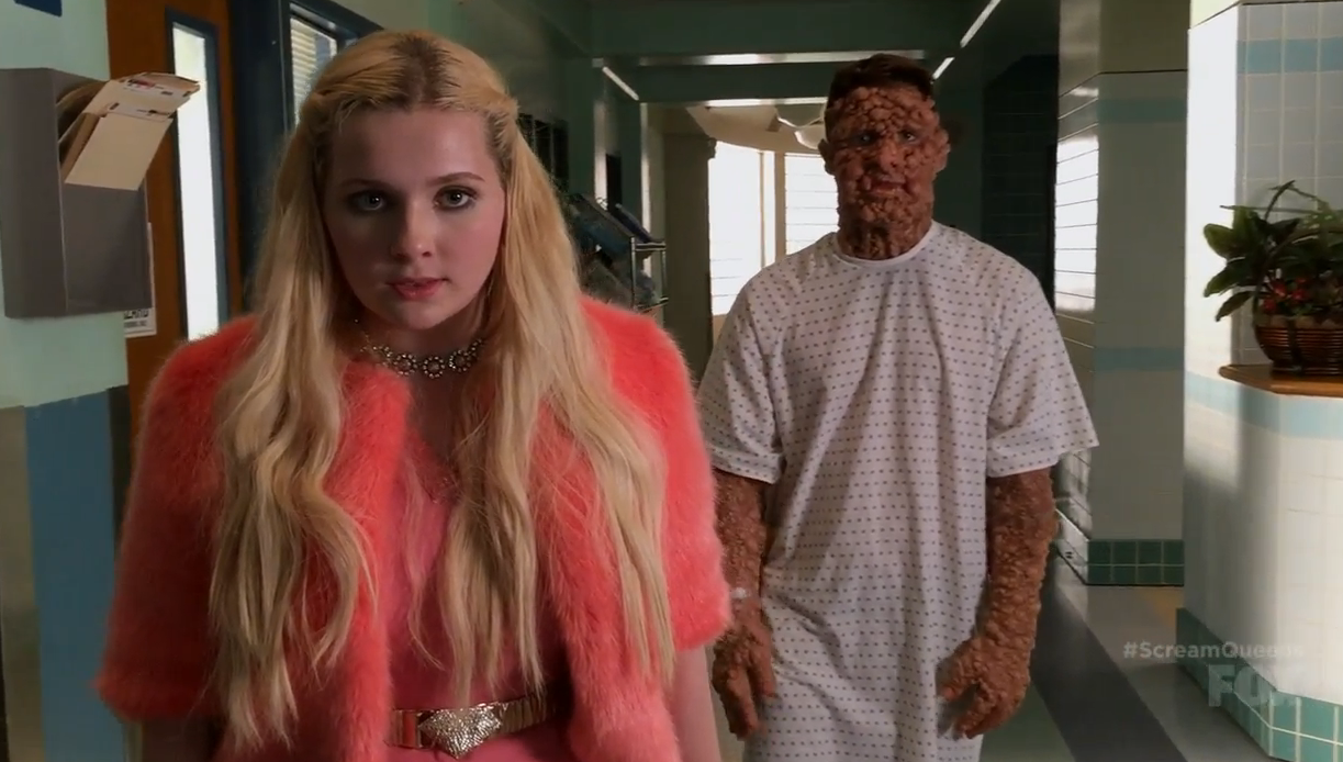 chanel 5 colton haynes scream queens warts and all
