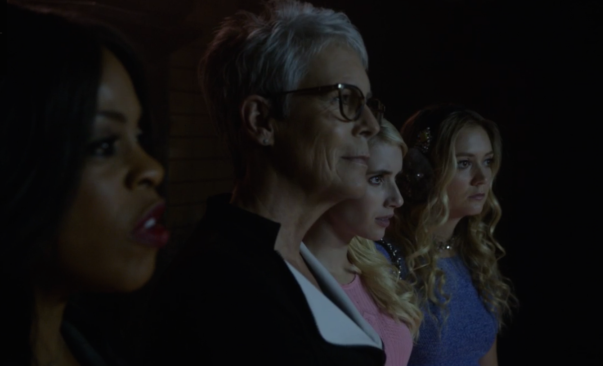 scream queens warts and all jamie lee curtis
