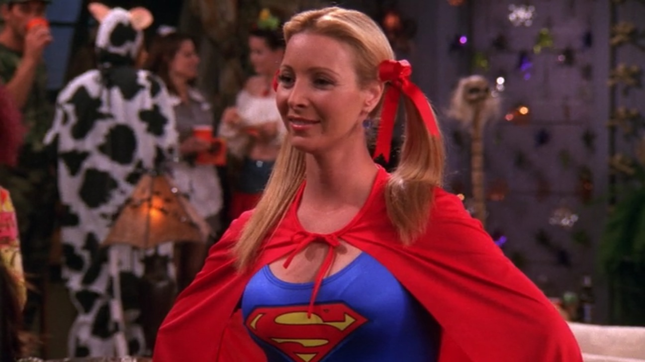 phoebes supergirl costume