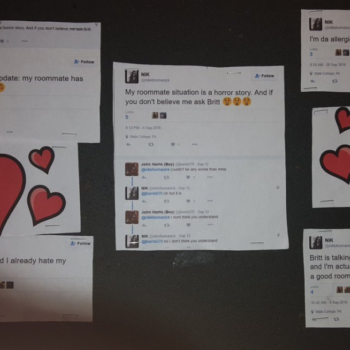 This viral tweet shows just what NOT to do if you're mad at your roommate