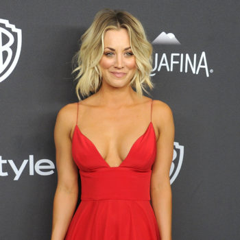 """""""Big Bang Theory's"""" Kaley Cuoco wore animal print (and sparkly sneakers!) in the most unique way"""