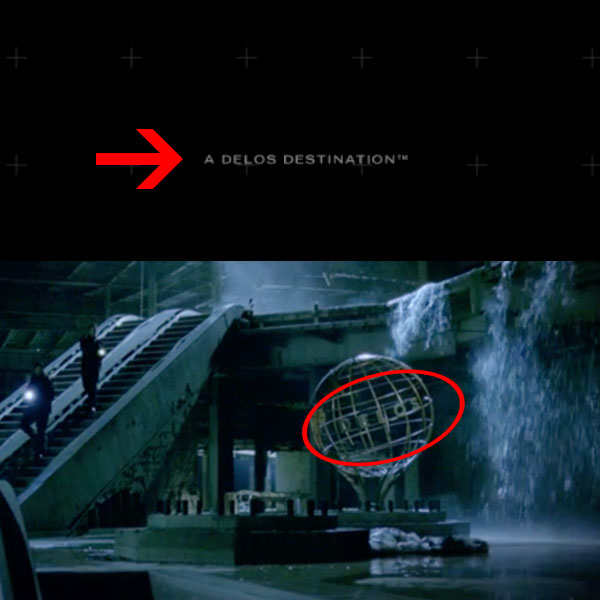 if you visit hbo s westworld site discoverwestworld com you ll see at the bottom that a delos destination appears for a split second