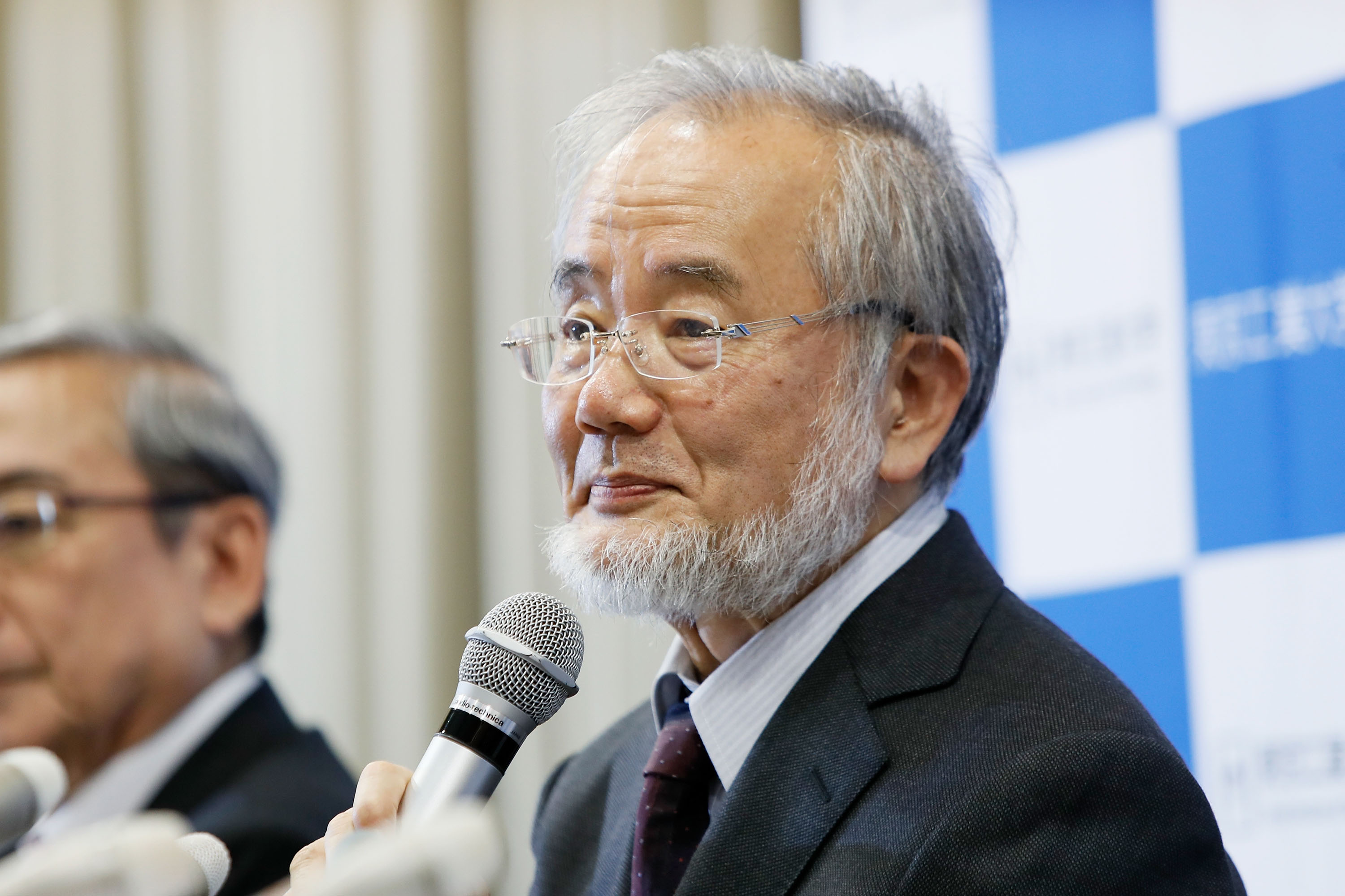 Yoshinori ohsumi far nobels medicinpris