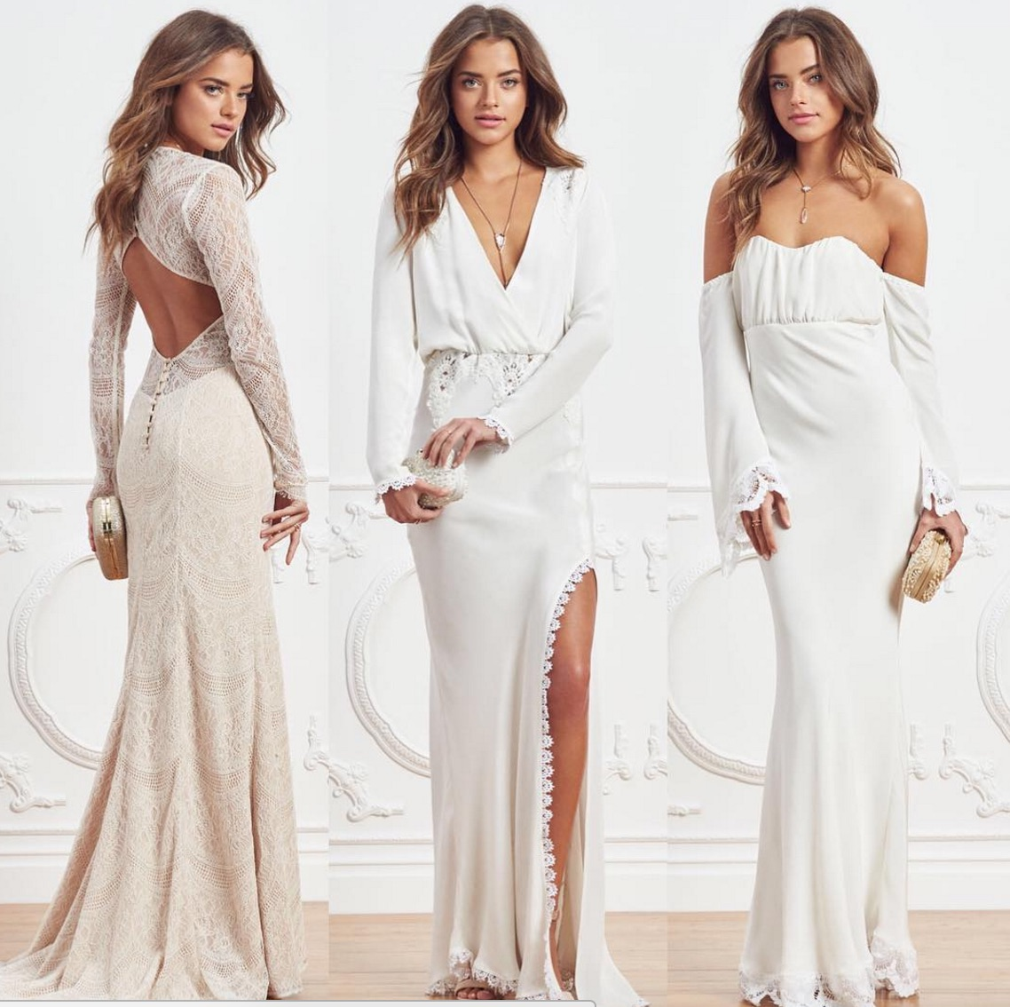 This unexpected online retailer has red-carpet ready wedding dresses