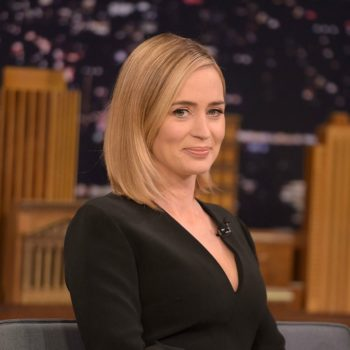 """Emily Blunt fooled a bunch of people into thinking a """"Friends"""" reunion was happening"""