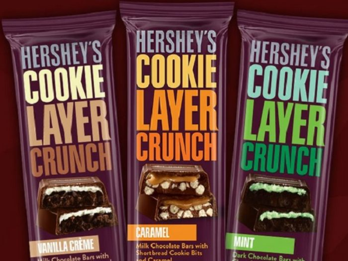 Image result for hershey's Cookie Layer Crunch Bars