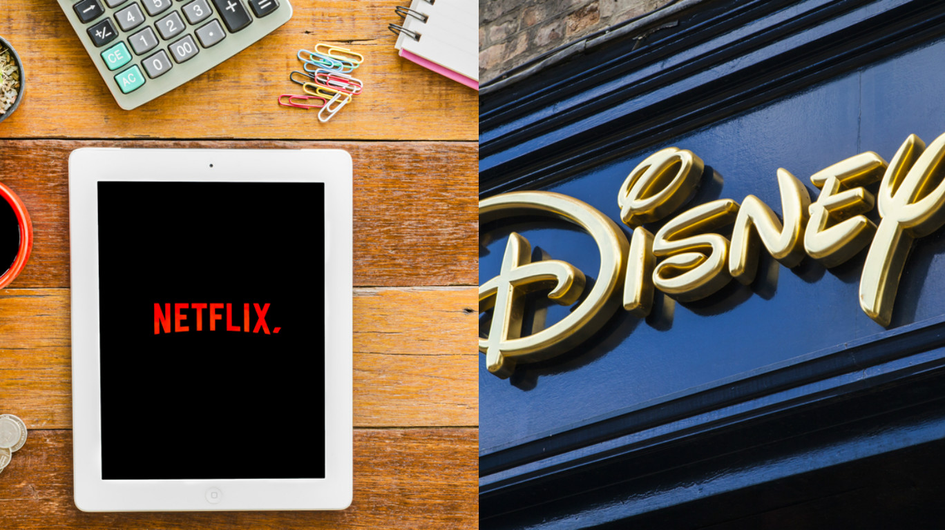 Whoa, Disney *might* buy Netflix and we're very okay with this