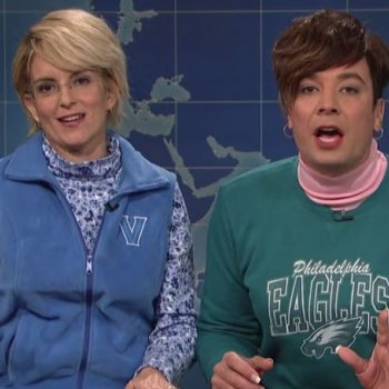 Tina Fey and Jimmy Fallon returned to 'SNL' and it was magical, of course