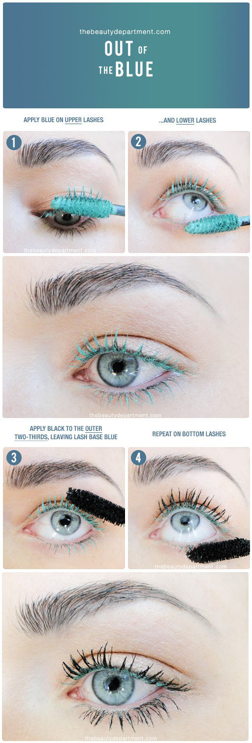 This Two Toned Mascara Tutorial Will Make Your Eyes Look Huge