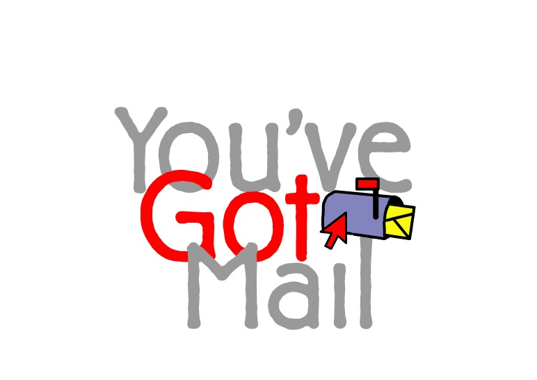 the website for the movie you ve got mail is a 90s web design rh hellogiggles com Mail Icon Clip Art Mail Icon Clip Art