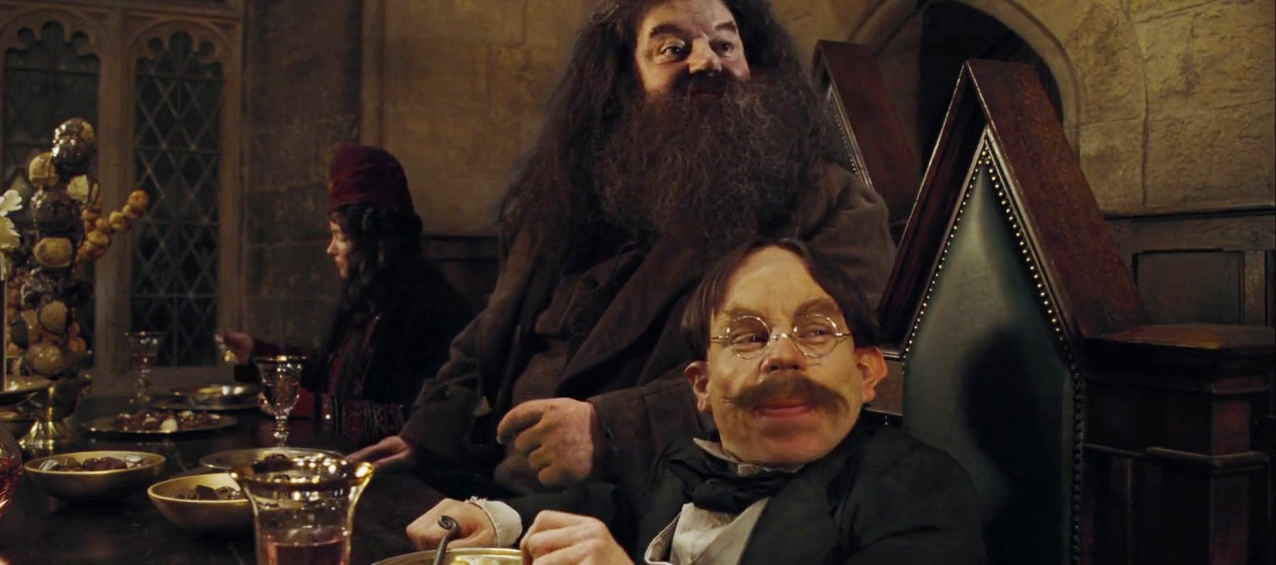 Harry potter director reveals his one regret about hagrid What house was hagrid in