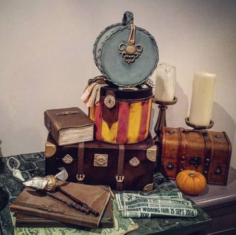 """These Harry Potter wedding cakes are going to make you want to say """"I do"""""""
