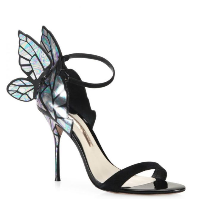 30a050e5f6 OMG Ashley Benson's holographic butterfly shoes are everything we've ...