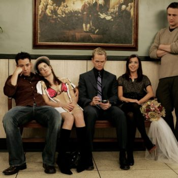 "Jason Segel just teased a ""How I Met Your Mother"" reunion, so suit up"