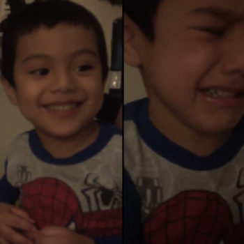 Little boy has meltdown when mom tells him Obama won't be president anymore, and we honestly couldn't relate more