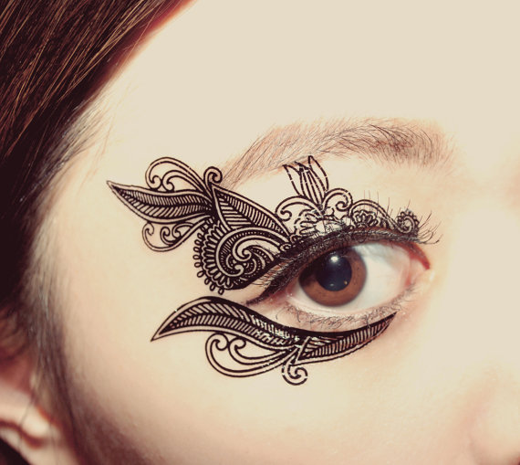 Henna Tattoo Mit Eyeliner: These 10 Mystical Masks Are Hauntingly Beautiful Halloween