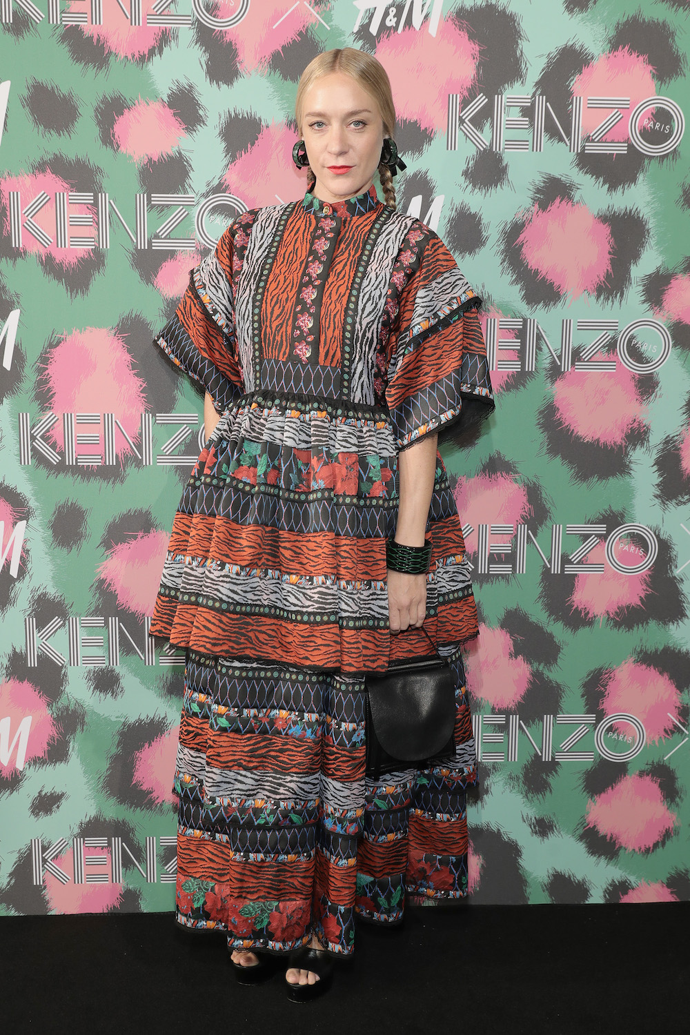 NEW YORK, NY - OCTOBER 19:  Chloe Sevigny attends KENZO x H&M Launch Event Directed By Jean-Paul Goude'  at Pier 36 on October 19, 2016 in New York City.  (Photo by Neilson Barnard/Getty Images for H&M)