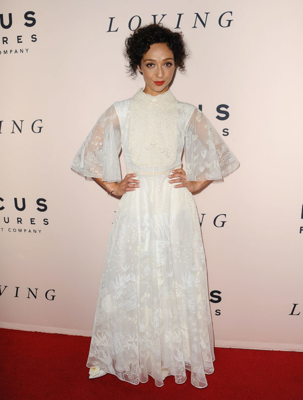 BEVERLY HILLS, CA - OCTOBER 20:  Actress Ruth Negga attends the premiere of  Loving  at Samuel Goldwyn Theater on October 20, 2016 in Beverly Hills, California.  (Photo by Jason LaVeris/FilmMagic)
