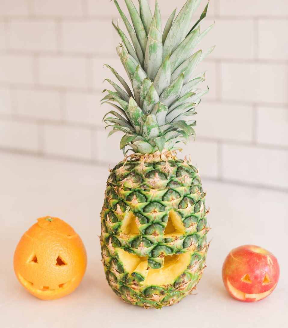 """Forget the pumpkins this Halloween, here's how you can carve a """"fruit-o'-lantern"""" instead"""